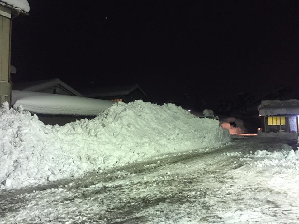 除雪 展示場