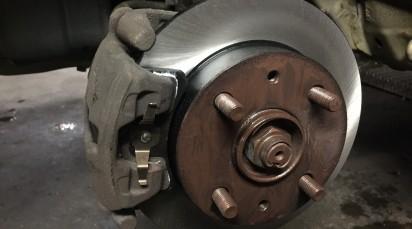 ブレーキ整備 ムーヴ