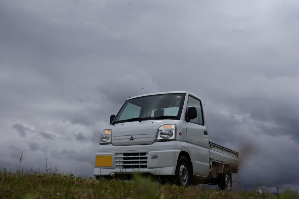 中古車 軽トラック ミニキャブ 試乗